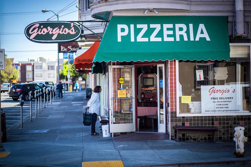 Giorgio' Pizza Clement Street